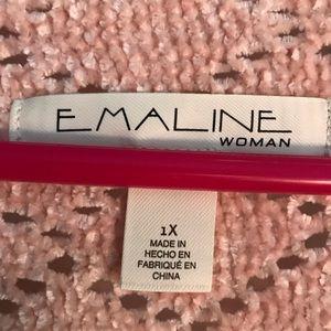Emmaline Sweaters - NWOT Emmaline Mauve-Pink Chenille Flow sweater